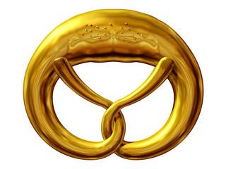 goldene Laugenbrezel, Symbol der Bäcker