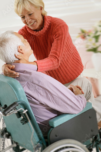 Couple senior - Tendresse