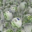 Hundred euro balloons