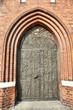 Opole cathedral door