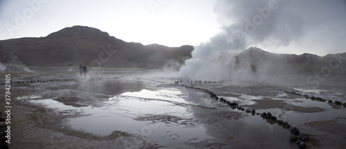 Geyser of Tatio, Atacama