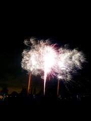 Fireworks In Barkingside 2010