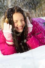 Under snowfall