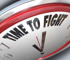 Time to Fight Clock Resistance Fighting for Rights