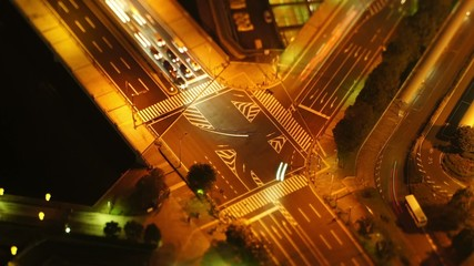 """The Traffic II"" miniture time lapse"