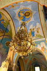Lamp in Church in Nazareth