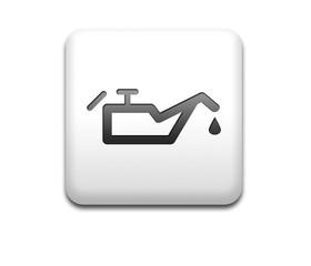 Boton cuadrado blanco simbolo nivel de aceite