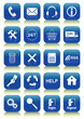 20 icon/button office (vector)