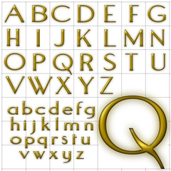 abc alphabet background aquaduct design