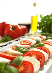 mozarella tomate