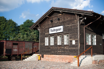 Radegast rail station