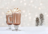 hot chocolate - winter treat