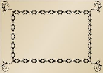 Cornice per decorazioni (vettoriale)