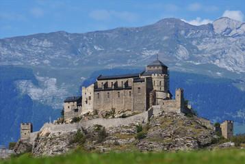 Valere castle in Sion, Switzerland