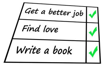 personal plan checklist