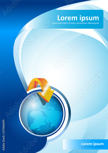Vector Brochure Background
