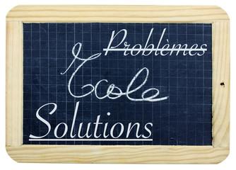 ardoise, problèmes / solutions