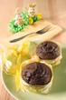 muffins mit osterdeko