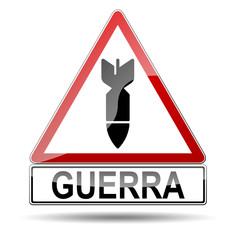 Señal atencion GUERRA