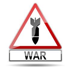 Señal atencion WAR