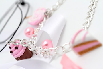 gioielli a forma di dolci