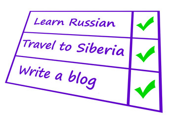 travel plan for Russia