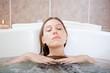 Enjoying a bathtub