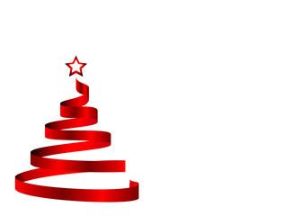 Árvore Natal em Fita