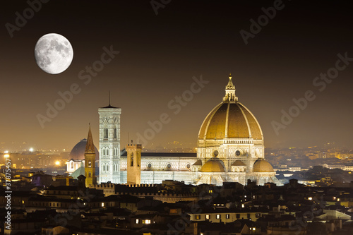 Florence with the Moon