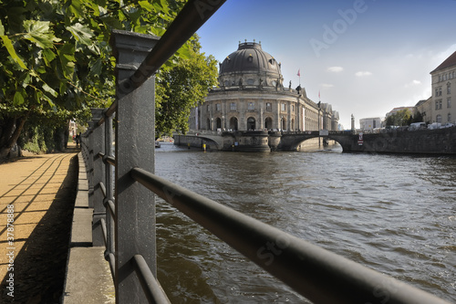 Bode Museum on Museum Island in Berlin