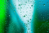 rain drop on abstract  background - 37881630