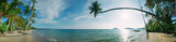 Fototapety Tropical beach panorama