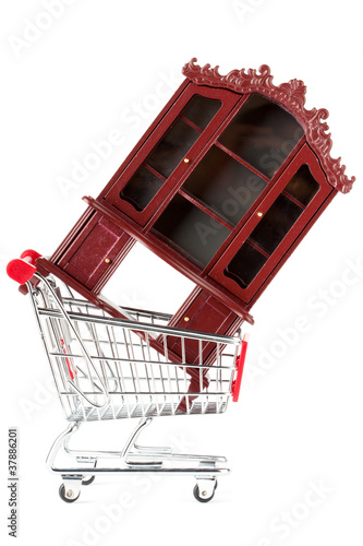 Shopping cart and sideboard