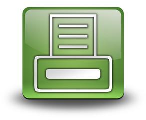 "Green 3D Effect Icon ""Printer"""