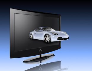 Monitor and car