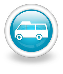 "Light Blue Icon ""Van"""