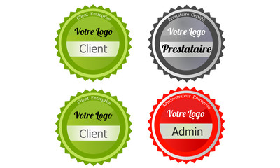 badge client