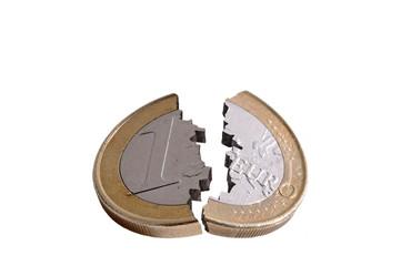 A broken euro