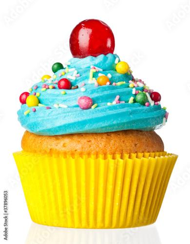 Fotobehang Bakkerij cupcake