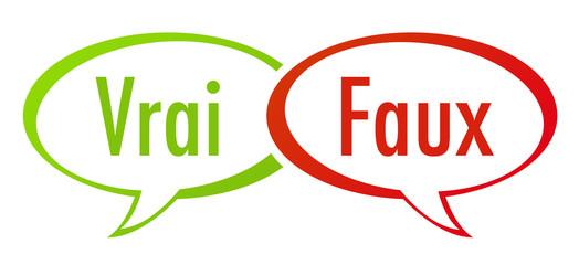 débat : vrai - faux - bulles de bd