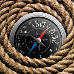 Kompass_Adventure auf Tau