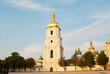 St. Sofia monastery in Kiev, Ukraine in the morning