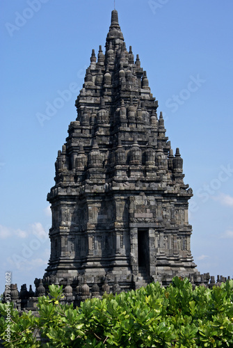 Foto op Plexiglas Indonesië Prambanan temple in Java, Indonesia