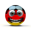 Friendly soccer ball - Germany -