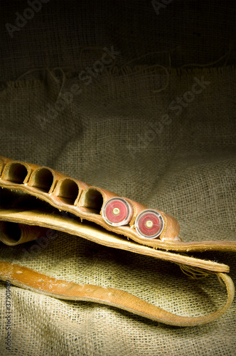 leather shotgun cartridge belt
