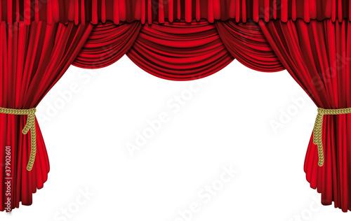 Rideau de sc ne fichier vectoriel libre de droits sur la banque d 39 images image - Location de rideaux de scene ...