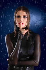 Wet girl