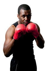 Black Man Boxer