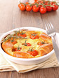 clafouti/tarte tomate