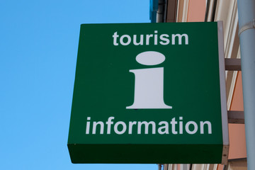 Tourist information Sign